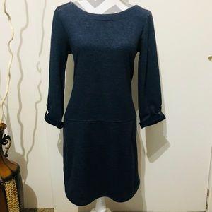 LOFT Sweater dress with zipper in the shoulder